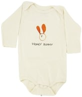 Kee-Ka - 100% Organic Cotton Long Sleeve BodySuit With Wearable Greetings Gift Box Honey Bunny 6-12 Months - CLEARANCE PRICED