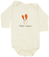 Image of Kee-Ka - 100% Organic Cotton Long Sleeve BodySuit With Wearable Greetings Gift Box Honey Bunny 6-12 Months - CLEARANCE PRICED