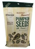Woodstock Farms - All-Natural Pumpkin Seeds Roasted and Salted - 9.5 oz. by Woodstock Farms