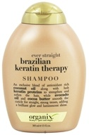 Image of Organix - Shampoo Ever Straight Brazilian Keratin Therapy - 13 oz.