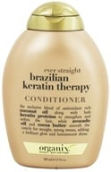 Organix - Conditioner Ever Straight Brazilian Keratin Therapy - 13 oz. CLEARANCE PRICED by Organix