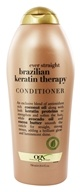 Image of Organix - Conditioner Ever Straight Brazilian Keratin Therapy - 25.4 oz.