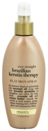Organix - Flat Iron Spray Ever Straight Brazilian Keratin Therapy - 6 oz. (022796916044)