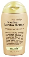 Organix - Anti-Breakage Serum Ever Straight Brazilian Keratin Therapy - 3.3 oz., from category: Personal Care