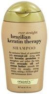 Image of Organix - Shampoo Ever Straight Brazilian Keratin Therapy - 3 oz.