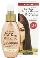 Image of Organix - 14 Day Express Smoothing Treatment Ever Straight Brazilian Keratin Therapy - 3.3 oz.