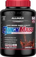 AllMax Nutrition - Quick Mass Loaded Rapid Mass Gain Catalyst Chocolate - 6 lbs., from category: Sports Nutrition