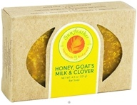 Sunfeather - Bar Soap Honey, Goat's Milk & Clover - 4.3 oz. (708930399781)