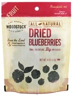 Image of Woodstock Farms - All-Natural Dried Blueberries - 4 oz.