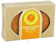 Sunfeather - Bar Soap Papaya Toasted Coconut - 4.3 oz., from category: Personal Care
