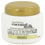 Organix - Instant Repair Treatment Nourishing Coconut Milk - 8 oz. (022796910318)
