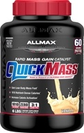 AllMax Nutrition - Quick Mass Loaded Rapid Mass Gain Catalyst Vanilla - 6 lbs.