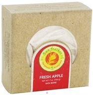 Sunfeather - Bath Bomb Fresh Apple - 7 oz., from category: Personal Care
