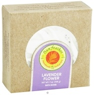 Image of Sunfeather - Bath Bomb Lavender Flower - 7 oz.