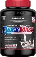 Image of AllMax Nutrition - Quick Mass Loaded Rapid Mass Gain Catalyst Cookies & Cream - 6 lbs.