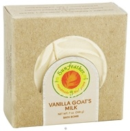 Sunfeather - Bath Bomb Vanilla Goat's Milk - 7 oz., from category: Personal Care