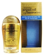 Organix - Penetrating Oil Extra For Dry, Coarse Hair Renewing Moroccan Argan Oil - 3.3 oz.