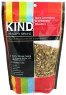 Image of Kind Bar - Healthy Grains Dark Chocolate & Cranberry Clusters - 11 oz.
