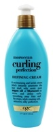 Image of Organix - Defining Cream Curling Perfection Renewing Moroccan Argan Oil - 6 oz.