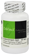 Image of DaVinci Laboratories - CoEnzyme Q10 10 mg. - 100 Capsules