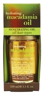 Organix - Dry Styling Oil Hydrating Macadamia Oil - 3.3 oz.