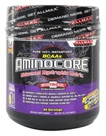 AllMax Nutrition - Aminocore BCAAs Advanced Myotrophic Matrix Caribbean Splash - 400 Grams