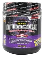 AllMax Nutrition - Aminocore BCAAs Advanced Myotrophic Matrix Caribbean Splash - 400 Grams - $39.99