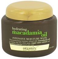 Organix - Intensive Moisture Mask Hydrating Macadamia Oil - 8 oz. (022796916969)