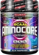 AllMax Nutrition - Aminocore BCAAs Advanced Myotrophic Matrix Blue Raspberry - 400 Grams