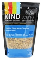 Kind Bar - Healthy Grains Vanilla Blueberry Clusters with Flax Seeds - 11 oz., from category: Health Foods
