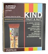 Image of Kind Bar - Fruit and Nut Bars Almond & Conconut - 4 Bars