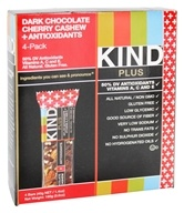 Image of Kind Bar - Fruit and Nut Bars + Antioxidants Dark Chocolate Cherry Cashew - 4 Bars