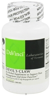 DaVinci Laboratories - Devil's Claw 500 mg. - 90 Vegetarian Capsules (026664272492)