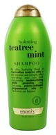 Organix - Shampoo Hydrating Tea Tree Mint - 25.4 oz. - $12.99