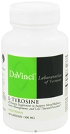 DaVinci Laboratories - L-Tyrosine 500 mg. - 60 Vegetarian Capsules CLEARANCE PRICED - $7.56