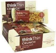 Image of Think Products - thinkThin Crunch Bar Chocolate Dipped Mixed Nuts - 1.41 oz.