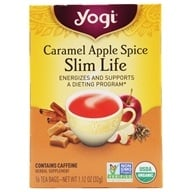 Yogi Tea - Slim Life Caramel Apple Spice - 16 Tea Bags formerly Snack Tea - $2.99