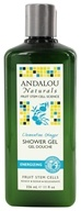 Andalou Naturals - Shower Gel Energizing Clementine Ginger - 11 oz. - $7.39