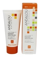 Image of Andalou Naturals - Radiant Skin Polish Brightening Chia + Omega - 2 oz.
