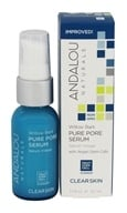 Andalou Naturals - Pure Pore Serum Clarifying Willow Bark - 1.1 oz. by Andalou Naturals