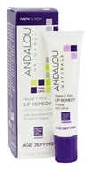 Andalou Naturals - Lip Remedy Age Defying Argan + Mint - 0.4 oz.
