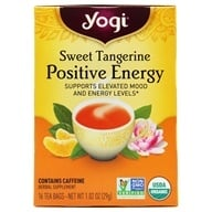 Yogi Tea - Positive Energy Tea Sweet Tangerine - 16 Tea Bags, from category: Teas