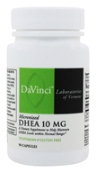 DaVinci Laboratories - Micronized DHEA 10 mg. - 90 Vegetarian Capsules (026664249395)