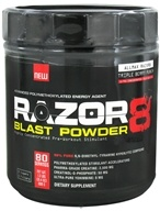 AllMax Nutrition - Razor8 Blast Powder Highly Concentrated Pre-Workout Stimulant Triple Berry Punch - 608 Grams
