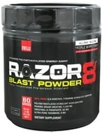 AllMax Nutrition - Razor8 Blast Powder Highly Concentrated Pre-Workout Stimulant Triple Berry Punch - 608 Grams - $36.99