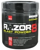 AllMax Nutrition - Razor8 Blast Powder Highly Concentrated Pre-Workout Stimulant Lemon Lime - 608 Grams