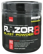 AllMax Nutrition - Razor8 Blast Powder Highly Concentrated Pre-Workout Stimulant Lemon Lime - 608 Grams by AllMax Nutrition