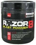 AllMax Nutrition - Razor8 Blast Powder Highly Concentrated Pre-Workout Stimulant Watermelon - 608 Grams, from category: Sports Nutrition