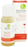 Image of MyChelle Dermaceuticals - Clear Skin Cleanser For Teen Acne - 2.1 oz.
