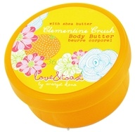 Love & Toast - Body Butter with Shea Butter Clementine Crush - 2 oz. (696166002455)